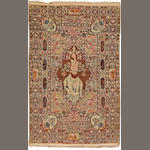 A Lavar Kerman pictorial rug  Caucasus size approximately 5ft. 4in. x 8ft. 7in.