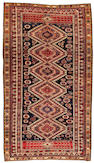 A Shirvan long carpet   Caucasus size approximately 5ft. 1in. x 8ft. 6in.