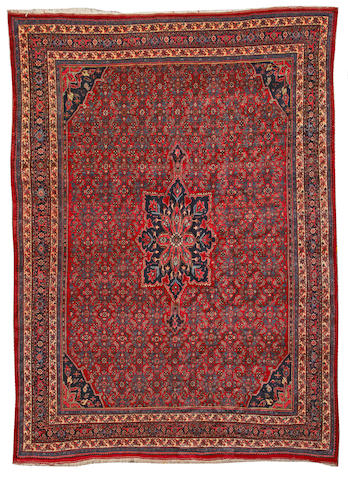 A Bidjar carpet Northwest Persia size approximately 8ft. 11in. x 12ft. 4in.