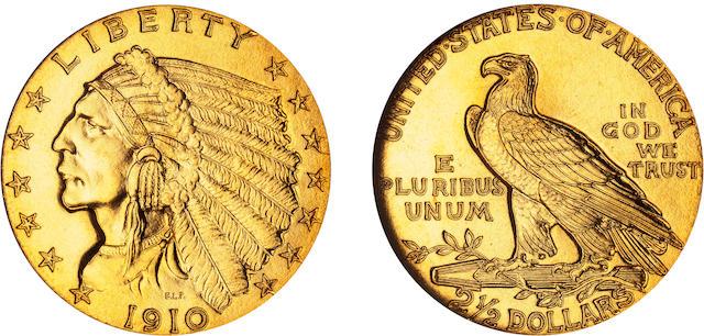 1910 $2.5 PF-67â605