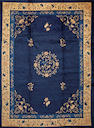 A Chinese carpet  China size approximately 9ft. 2in. x 12ft.
