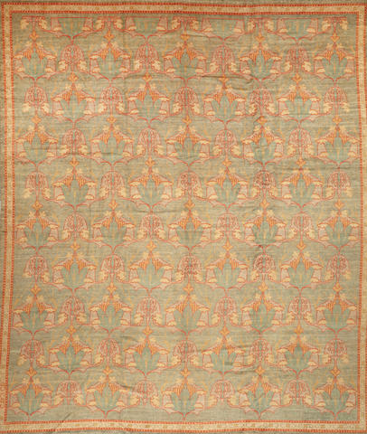 A Donegal carpet Ireland size approximately 12ft. 2in. x 15ft. 2in.