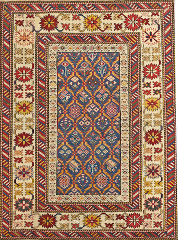 A Shirvan rug Caucasus size approximately 3ft. 3in. x 4ft. 3in.