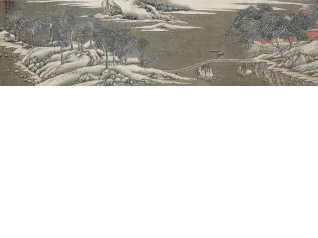 After Xie Shichen(18th-19th century) Winter Landscape