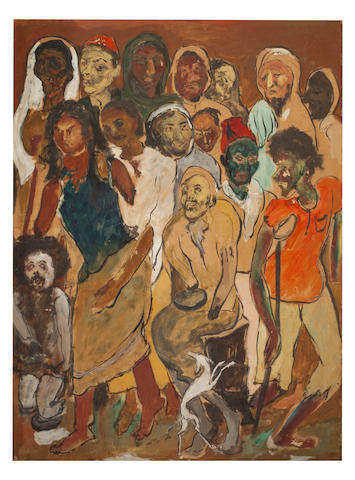 Krishna Ara, Beggars