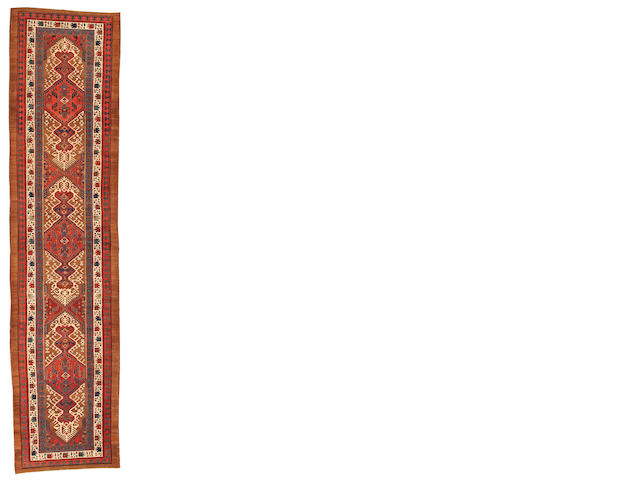 A Serab runner  Northwest Persia size approximately 3ft. 8in. x 15ft. 1in.