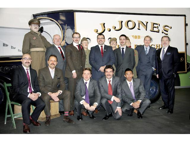 Bonhams Motor Dept Movember 2012