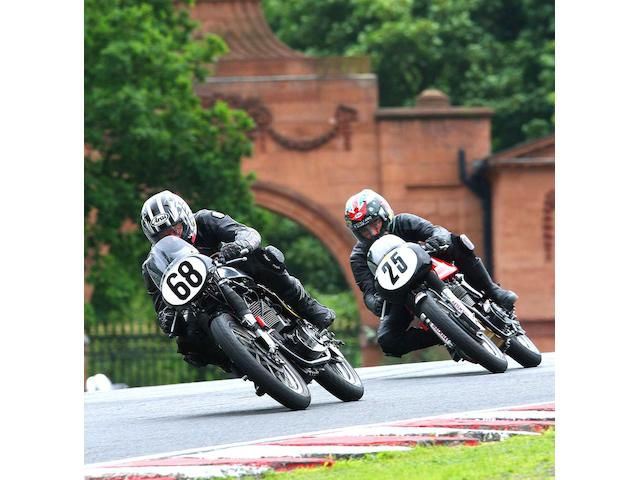 Mike Russell and Glen English at Oulton Park  CREDIT 'Racing Line Photography & S