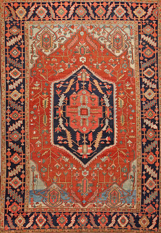 A Serapi carpet Northwest Persia size approximately 9ft. x 12ft. 7in.