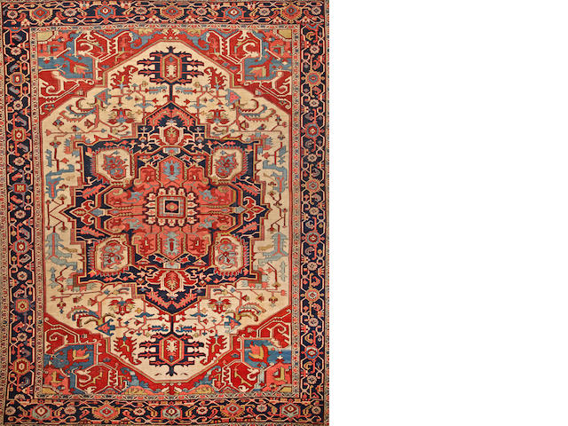A Serapi carpet Northwest Persia size approximately 9ft. 9in. x 12ft. 3in.