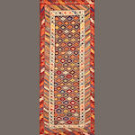A Caucasian runner Caucasus size approximately 4ft. 2in. x 9ft. 8in.