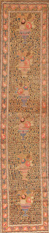 A Northwest Persian runner Northwest Persia size approximately 3ft. 5in. x 15ft. 5in.