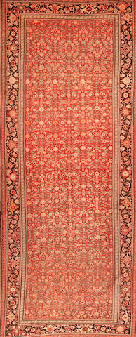 A Karabagh long carpet  Caucasus size approximately 7ft. 2in. x 18ft.