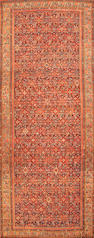 A Malayer long carpet  Central Persia size approximately 7ft. 6in. x 19ft. 8in.