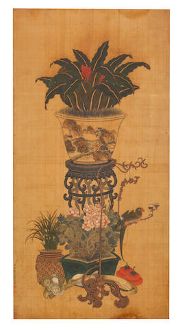 After Bian Jingzhao (15th century) Heavenly Bamboo