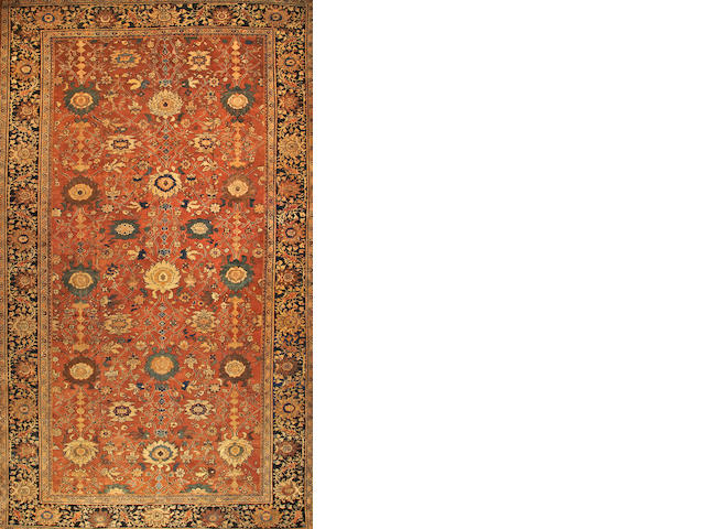 A Sultanabad carpet  Central Persia size approximately 11ft. 5in. x 19ft. 5in.