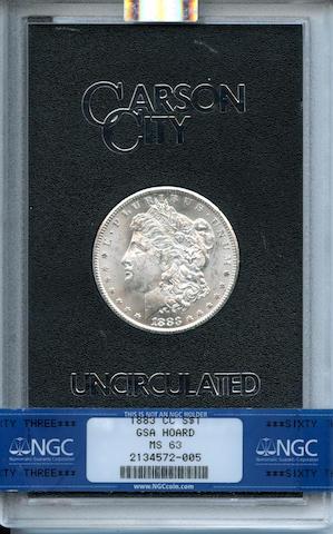 1883-CC $1 GSA MS63 NGC