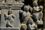 A relief panel with scenes from the life of Buddha Ancient Region of Gandhara, 2nd/3rd century