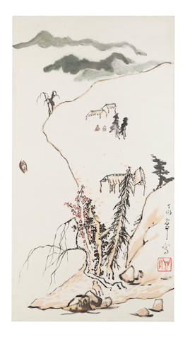 Ding Yanyong (1902-1978) Landscape