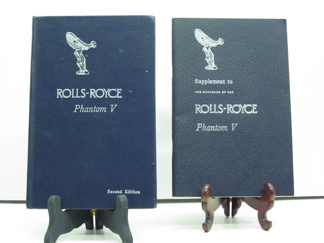 A Rolls-Royce Phantom V handbook, second edition,