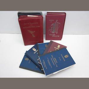 A grouping of RROC, RREC and Rolls-Royce technical society reprinted handbooks and service instructions
