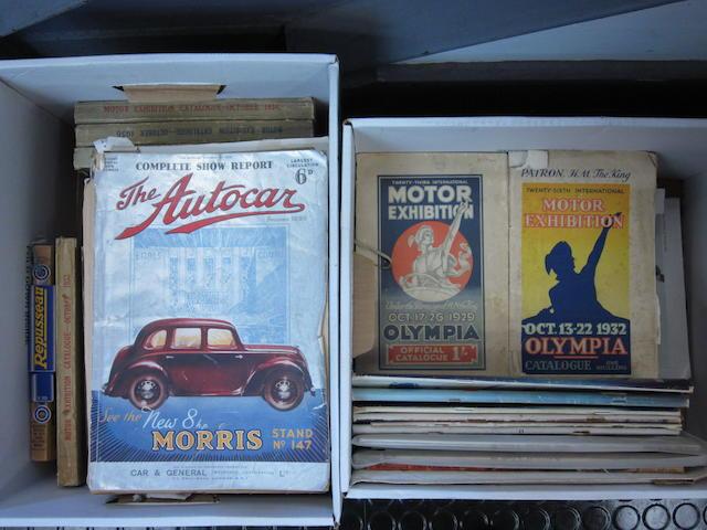 A large grouping of Autocar magazine,