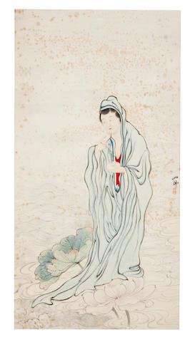 Hu Yefo (1908-1980) Guanyin