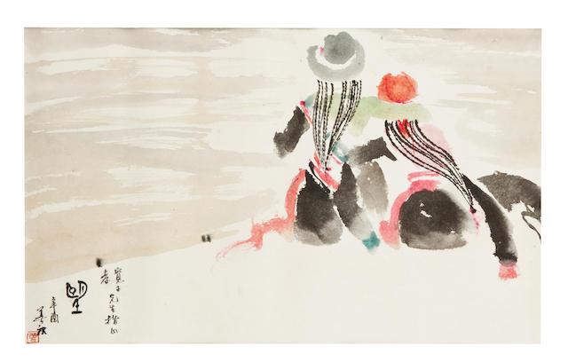 Zeng Shanqing (b. 1932), Two paintings