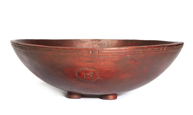 Large Serving Bowl, Massim Area, Papua New Guinea