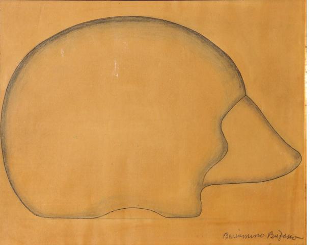 Beniamino Benvenuto Bufano (Italian/American, 1898-1970) Hedgehog 15 x 20in