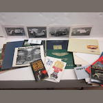 An assorted lot of car brochures and other motor related literature