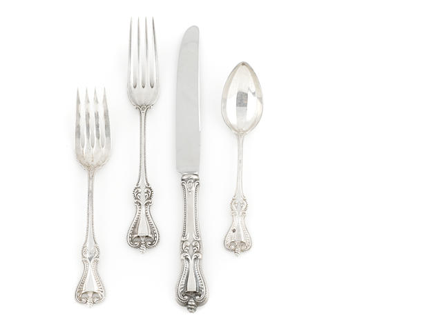 A Towle 'Old Colonial' part flatware service