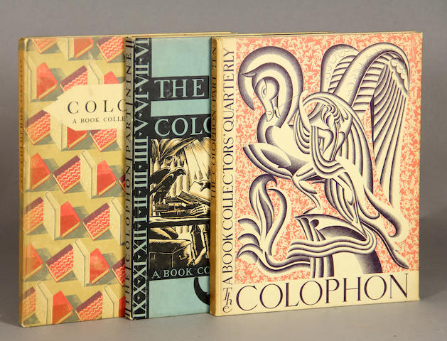 The Colophon.