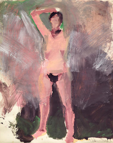 Manuel Neri (born 1930) Mary Julia Standing II, 1972 41 1/2 x 33 1/2in (105.4 x 85.1cm) unframed