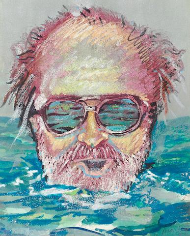 Robert Arneson (1930-1992) Dip, 1973 16 1/4 x 13in (41.3 x 33cm)