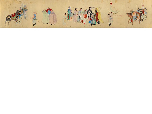 Anonymous (19th century) Return of Wenji