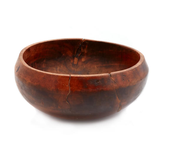 Hawaiin Kou Wood Bowl
