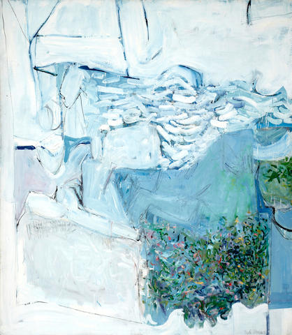 Paul Wonner (1920-2008) Seascape No. 2, 1958 70 x 60 3/4in (177.8 x 154.3cm) unframed