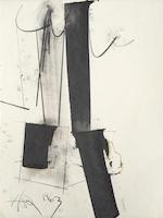 Hassel Smith (1915-2007) Untitled, 1963 (3) each 20 x 15in (50.8 x 38.1cm) each unframed