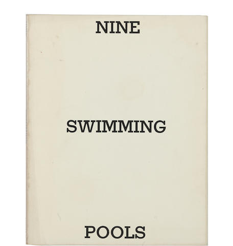 Ed Ruscha (born 1937) Nine Swimming Pools and a Broken Glass, 1968 7 x 5 1/2in (17.8 x 14cm)