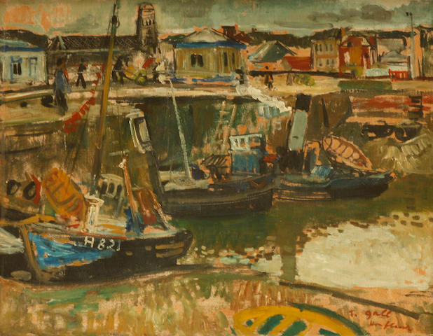 François Gall (French, 1912-1987) Honfleur 20 x 24in.