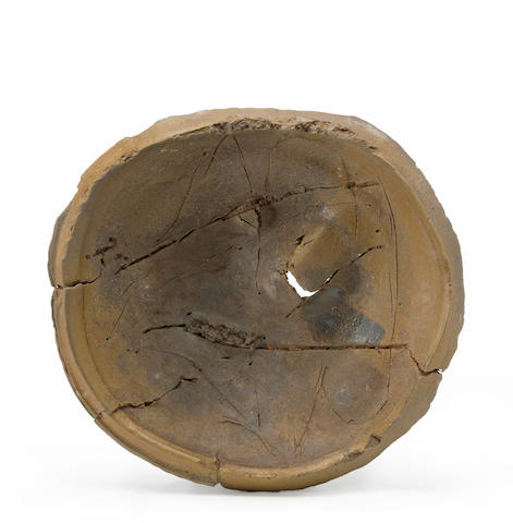 Peter Voulkos (1924-2002) Untitled (Plate), 1981 (CR853.7-W) diameter 21in (53.3cm)