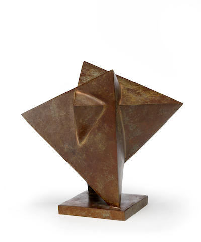 Jacques Schnier (1898-1988) Star of David, 1985 8 3/8 x 8 3/4 x 8in (21.3 x 22.2 x 20.3cm)
