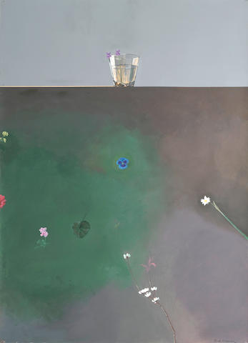 Paul Wonner (1920-2008) Untitled, 1971 39 1/2 x 27 1/2in (100.3 x 69.9cm)