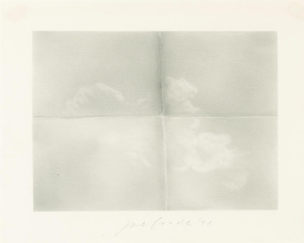Joe Goode (born 1937) Untitled, 1971 11 5/8 x 14 1/2in (29.5 x 36.8cm)