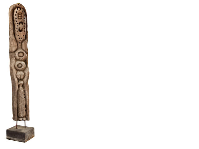 Cyprian Mpho Shilakoe Untitled (Totem) Height: 163.2cm (64 1/4in.)