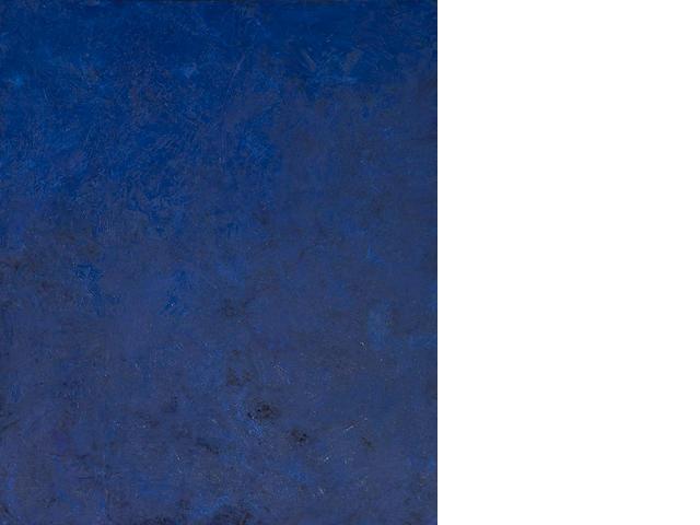 Joe Goode (born 1937) Ocean Blue Series #25, 1989 47 3/4 x 40in (121.3 x 101.6cm)