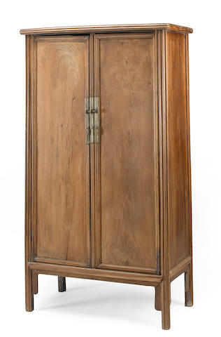 A mixed softwood tapered cabinet Late Qing/Republic period