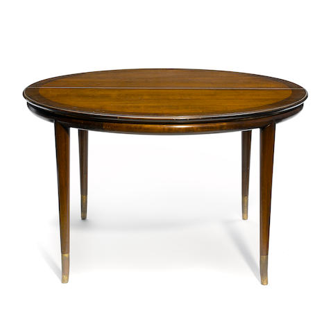 A John Stuart for Johnson Furniture Company extension dining table