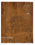 A mandala of Chakrasamvara Tibet, 15th century